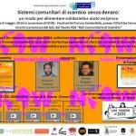 """Now Festival 2016 Riassunto ipermediale del seminario  """"Sistemi Comunitari di scambio senza denaro"""""""